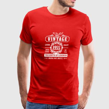 Vintage 1955 The Birth Of Legends - Men's Premium T-Shirt
