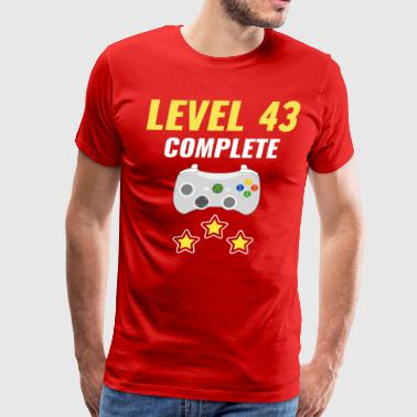 Level 43 Complete - Men's Premium T-Shirt