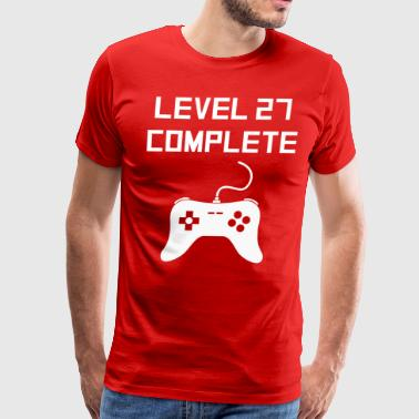 Level 27 Complete - Men's Premium T-Shirt
