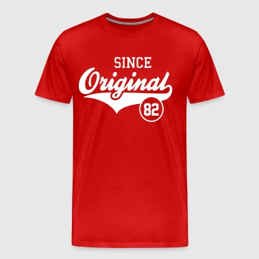 Original Since 1982 - Men's Premium T-Shirt