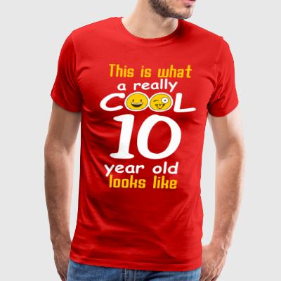 This is what a really cool 10 year old looks like - Men's Premium T-Shirt