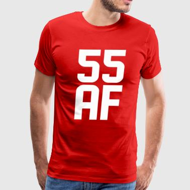 55 AF Years Old - Men's Premium T-Shirt