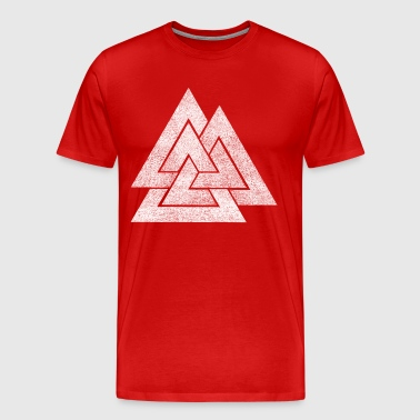 Valknut Viking Design - Men's Premium T-Shirt