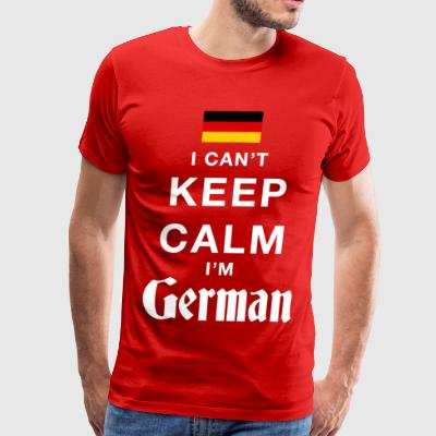 Keep calm I´m German - Men's Premium T-Shirt