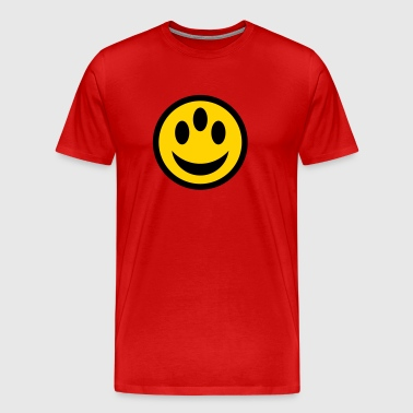 smiley alien - Men's Premium T-Shirt