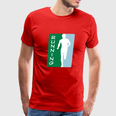 2541614 15946915 running5 - Men's Premium T-Shirt
