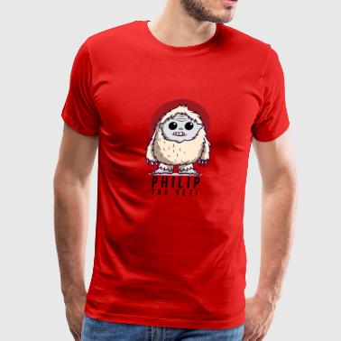 Philip the Yeti - Men's Premium T-Shirt