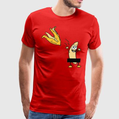 Banana Strip - Men's Premium T-Shirt