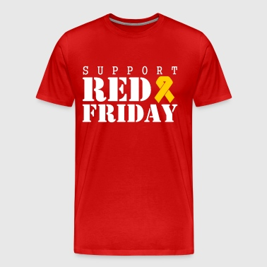 support red friday - Men's Premium T-Shirt