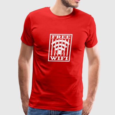 free wifi - Men's Premium T-Shirt