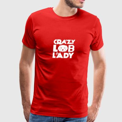 CRAZY LOB LADY - Men's Premium T-Shirt