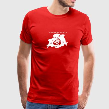 New Design Big Sharks Little Fish Best Seller - Men's Premium T-Shirt