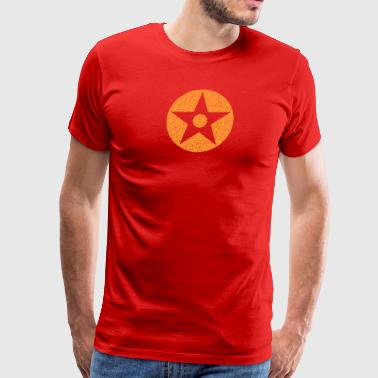 circle star - Men's Premium T-Shirt