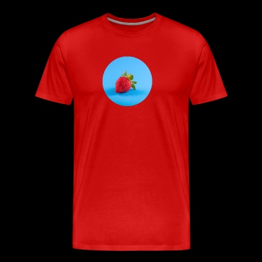 Fresh Strawberry in grand style. - Men's Premium T-Shirt