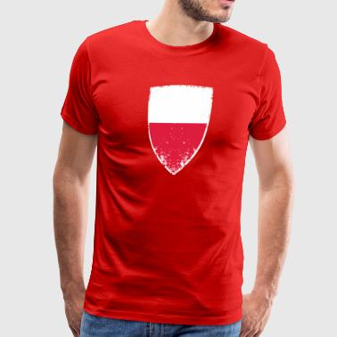 Flag of Poland - Men's Premium T-Shirt