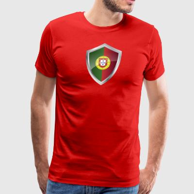 Emblem Portugal - Men's Premium T-Shirt