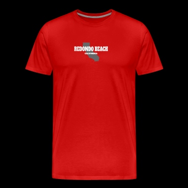 CALIFORNIA REDONDO BEACH US STATE EDITION - Men's Premium T-Shirt