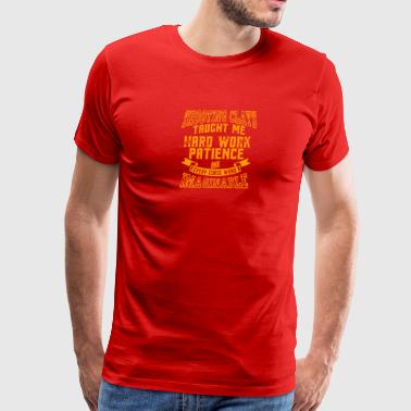 Shooting Clays Taught Me - Men's Premium T-Shirt