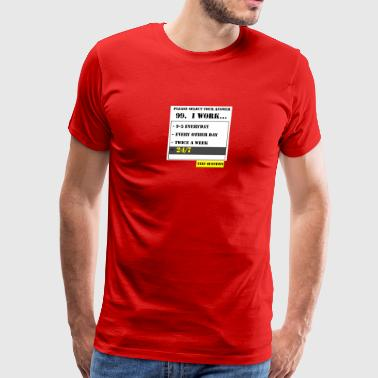 99TH QUESTION - Men's Premium T-Shirt