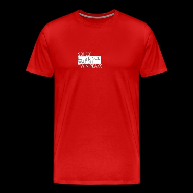 Twin Peaks - Men's Premium T-Shirt