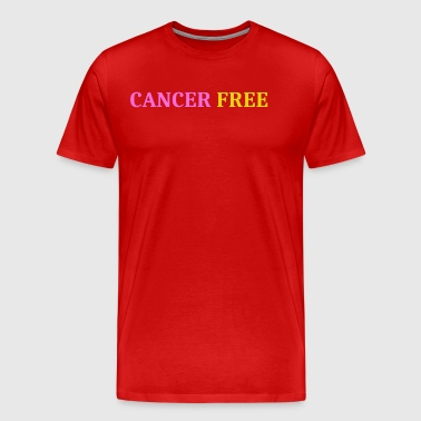 Cancer free - Men's Premium T-Shirt