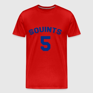 The Sandlot Jersey Squints 5 - Men's Premium T-Shirt