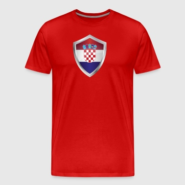 Emblem Croatia - Men's Premium T-Shirt