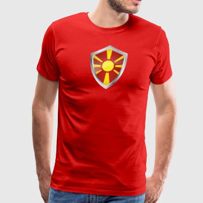 Emblem Macedonia - Men's Premium T-Shirt
