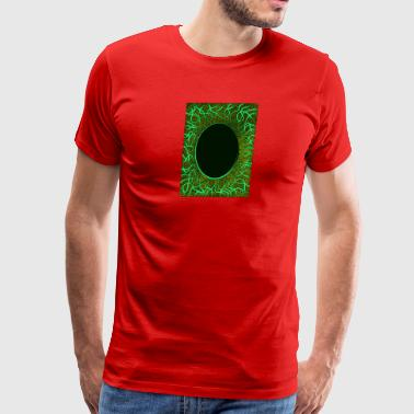 green lines and stars - Men's Premium T-Shirt