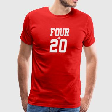 420 Four Twenty Club Trikot grey - Men's Premium T-Shirt