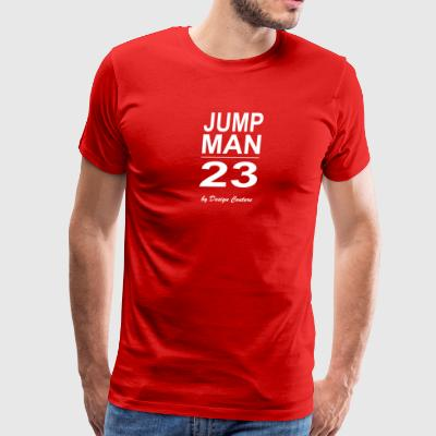 JUMP MAN 23 WHITE - Men's Premium T-Shirt