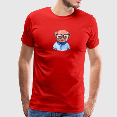 Cute lil pugs - Men's Premium T-Shirt