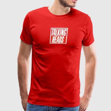 Talking Heads - Men's Premium T-Shirt