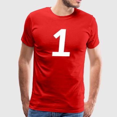 Sport Number 1 One - Men's Premium T-Shirt