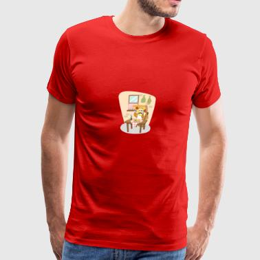 pizza pizzeria food essen restaurant22 - Men's Premium T-Shirt