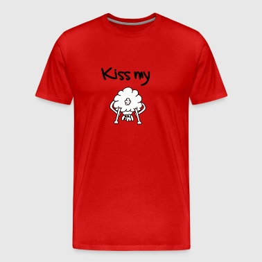 sheep backside - Men's Premium T-Shirt