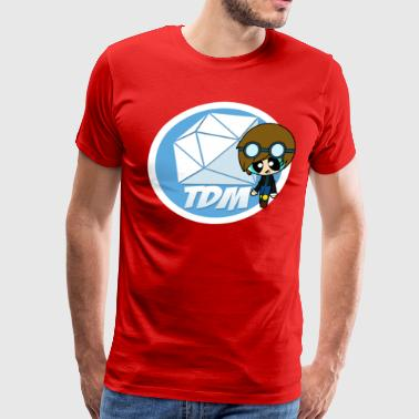 Fans DAN TDM Minecart Fan Club - Men's Premium T-Shirt