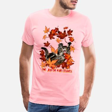 Fall The Joy Of Fall Leaves - Men's Premium T-Shirt