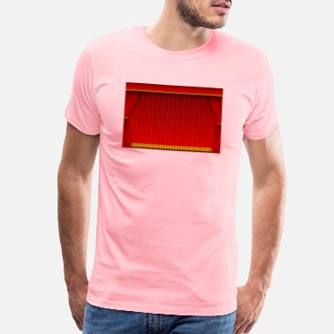 Curtain Red curtain background - Men's Premium T-Shirt