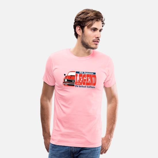 Automobile T-Shirts - the legend - Men's Premium T-Shirt pink