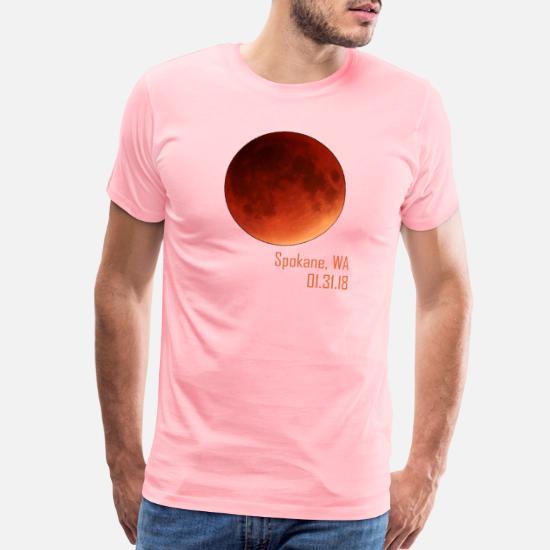 lunar eclipse 2018 spokane washington men s premium t shirt spreadshirt spreadshirt