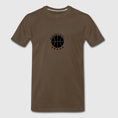 Basketball Logo - Men's Premium T-Shirt