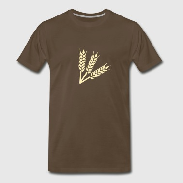 Wheat - Men's Premium T-Shirt