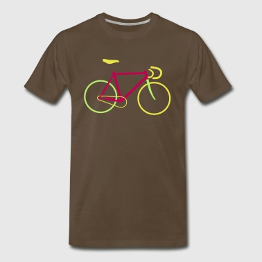Fixed Gear Bike - Bicycle - Men's Premium T-Shirt