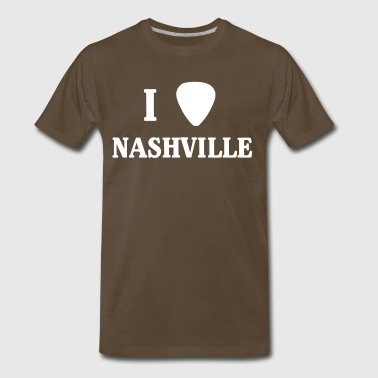 I guitar pick Nashville - Men's Premium T-Shirt