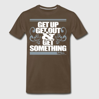 Get Something - Men's Premium T-Shirt