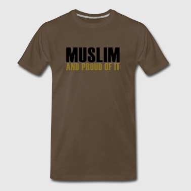 Muslims Proud muslim - Men's Premium T-Shirt