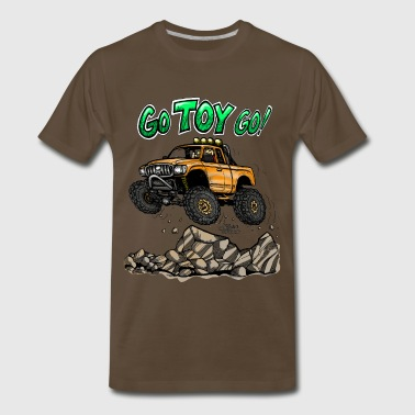 Toyota-tacoma-off-road-truck Go Toyota Go color - Men's Premium T-Shirt