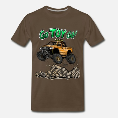 Go Toyota Go color - Men's Premium T-Shirt