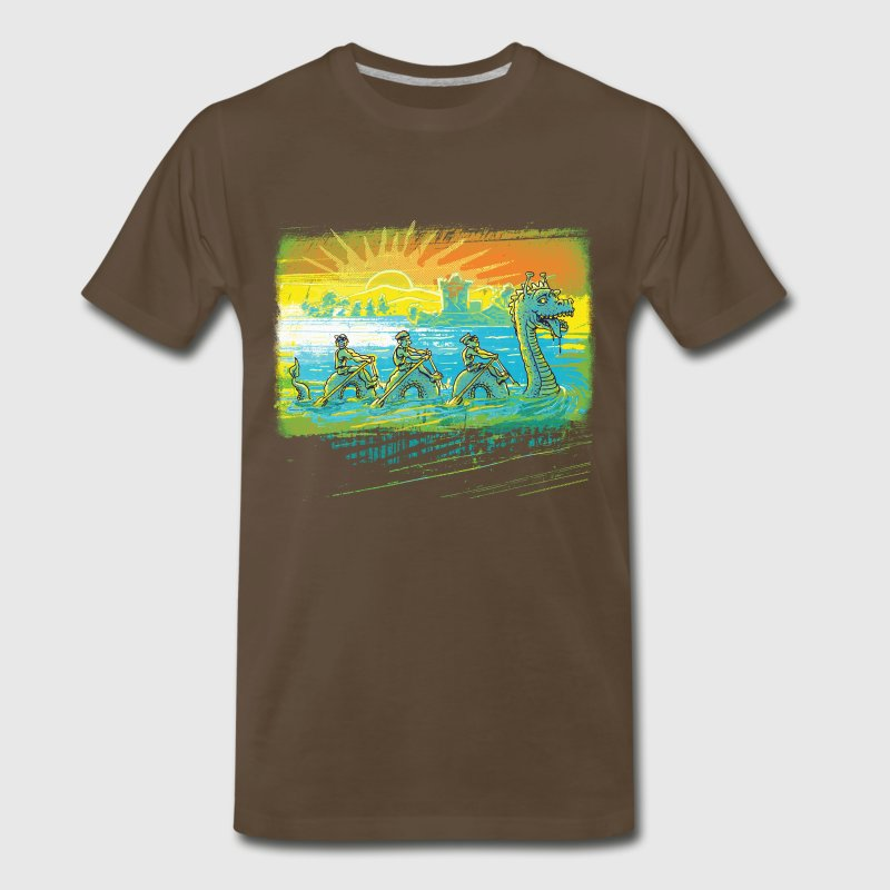 Team Loch Ness Monster - Men's Premium T-Shirt